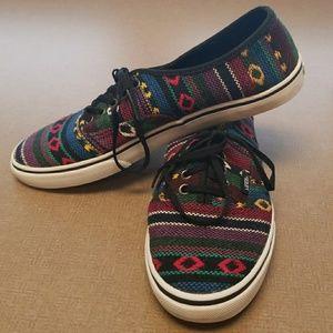 9036242107 Woven VANS Shoes ~ GUC
